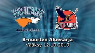 La 12.10.2019 Pelicans B1 Team - KJT Haukat Akatemia