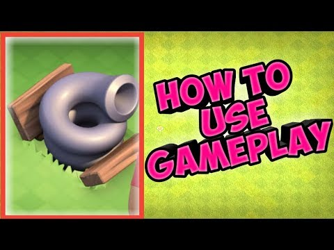 Clash Of Clans How To Use Tornado Trap With Gameplay...