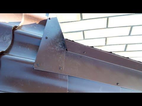 Защита кирпичного дымохода от дождя #5. Декоративные элементы