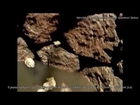 """Il pozzo sotto la Colonna del """"Sedile"""" del 1200 d.C. circa in Salice Sal (Le) - BelSalento"""