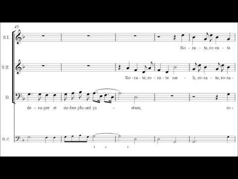 Schütz | Rorate caeli, SWV 322 [á 3; Concerto Vocale]