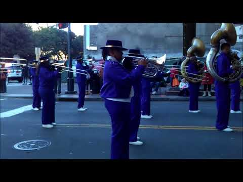 BAILEY MASTER BRASS BAND@THE CHARLOTTE MLK PARADE 2018