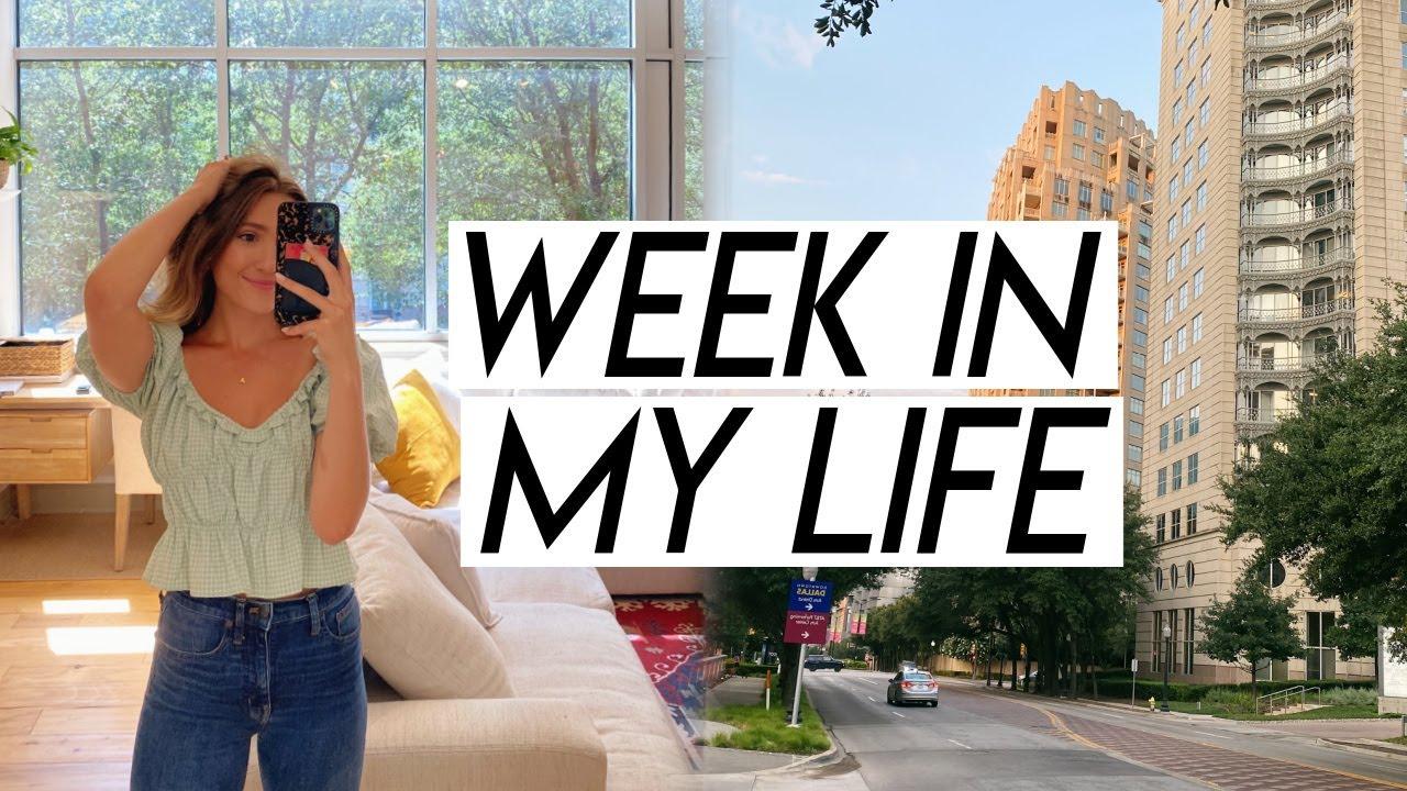 WEEK IN MY LIFE | productive week, roadtrip prep, browsing houses, & managing finances!