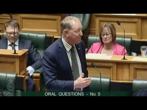 21.09.16 - Question 5 - James Shaw to the Minister for the Environment