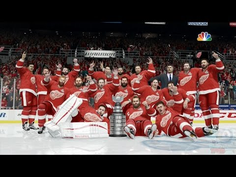 NHL 17 - Detroit Red Wings Stanley Cup Championship Celebration