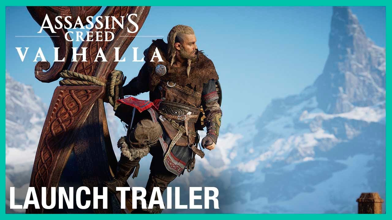 Assassin's Creed Valhalla: Launch Trailer | Ubisoft