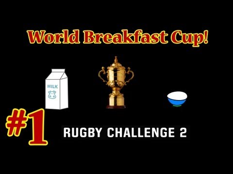 Rugby Challenge 2 - World Breakfast Cup - Round 1 - Ireland vs France.