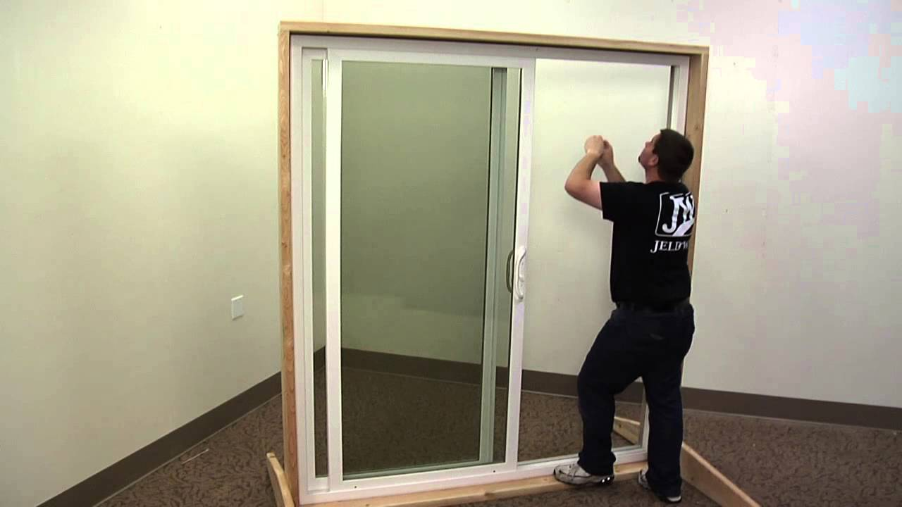 How To Replace The Anti Lifts On A Vinyl Sliding Patio Door Youtube