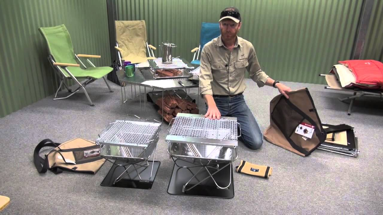 - Snow Peak Fire Pit Unboxing, From Drifta - YouTube