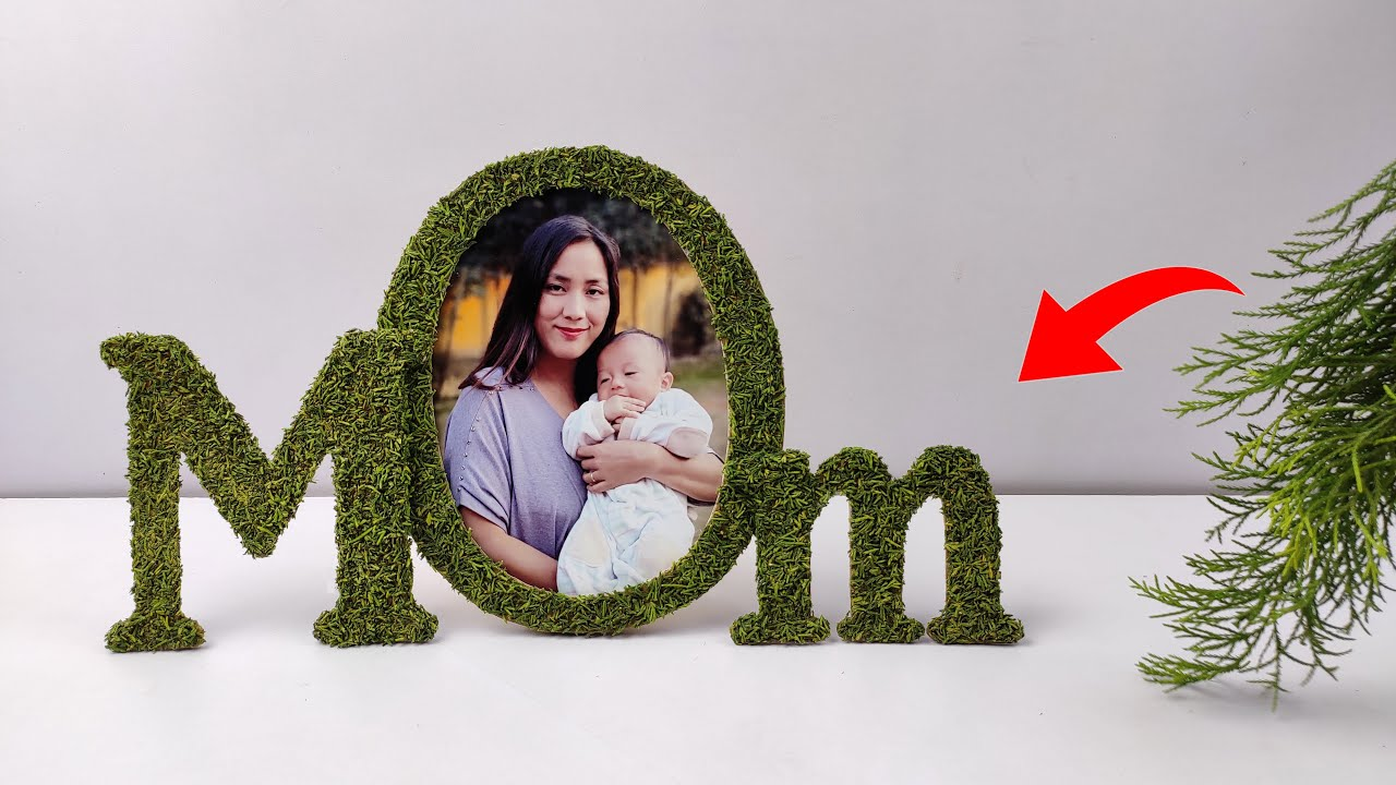 Mother's day gift ideas 2021| Photo frame craft idea easy | Homemade Mothers Day Gifts in Quarantine