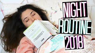 NIGHT ROUTINE 2018 🌟I'M SEXY AND I KNOW IT! 😅 | Adriana Spink
