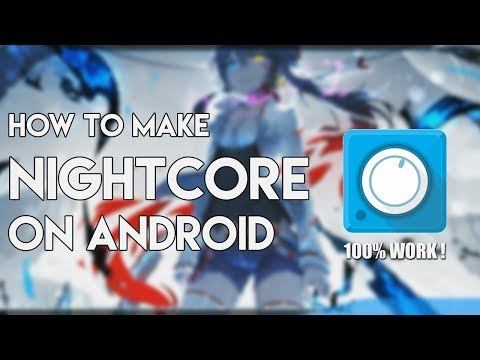 HOW TO MAKE NIGHTCORE ON ANDROID || Avee Player
