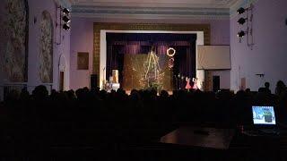 Первый прямой эфир. Новогодний концерт в Медвине. Связь плохая