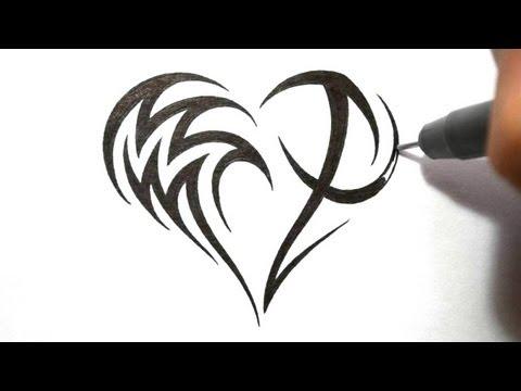 Designing Aquarius And Sagittarius In The Shape Of A Heart