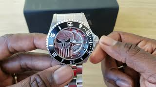 Open Box Flame Review For Invicta's Punisher Prodiver