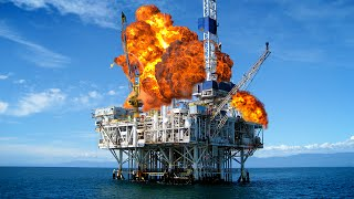 OIL PLATFORM DESTRUCTION! (Just Cause 2)