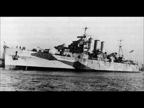 1928 HMS  NORFOLK heavy cruiser battleship history facts