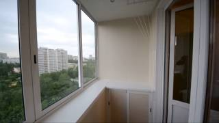 Холодный балкон. ламинированные панели. системы хранения. - .