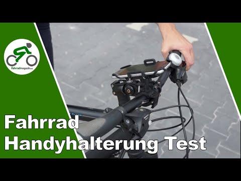 fahrrad handyhalterung test 7 halter im fokus youtube