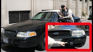 Машина для старта в США. Где полицейская машина?