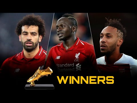 Salah + Mane + Aubameyang | Golden Boot Winner | EPL 2019