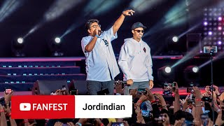 Opening with Jordindian @ YouTube FanFest Mumbai 2019