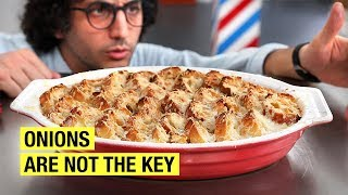 One of Alex French Guy Cooking's most viewed videos: I Had To Make French Onion Soup... (Better)