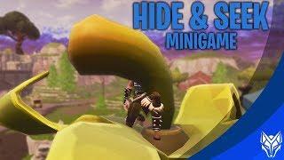 HIDE & SEEK MINI-GAME  - Fortnite: Battle Royale PLAYGROUND (Nederlands)