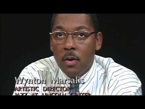 Wynton Marsalis, Marcus Roberts and Stanley Crouch interview (1992)