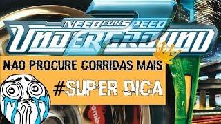 Need for Speed Underground 2 - Não Procure mais corridas # Super Dica