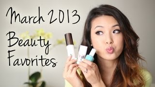 March 2013 Beauty Favorites!