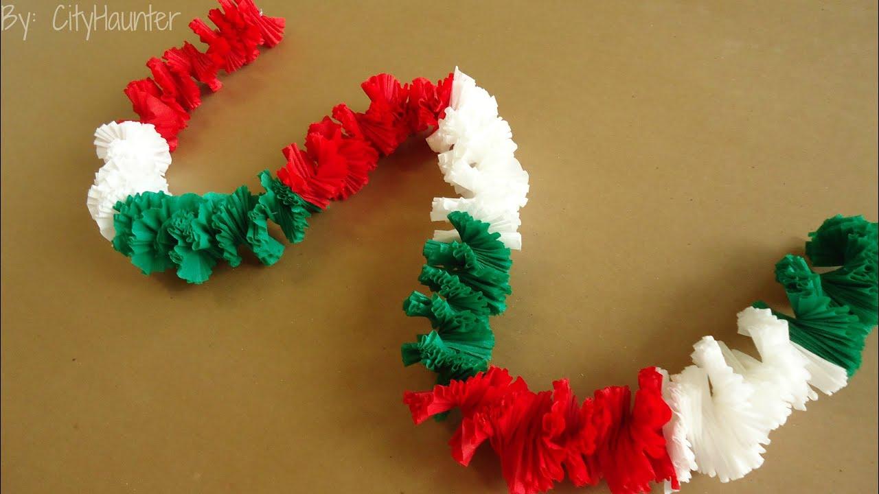 Guirnalda collar hawaiano fiestas patrias youtube for Guirnaldas para fiestas infantiles