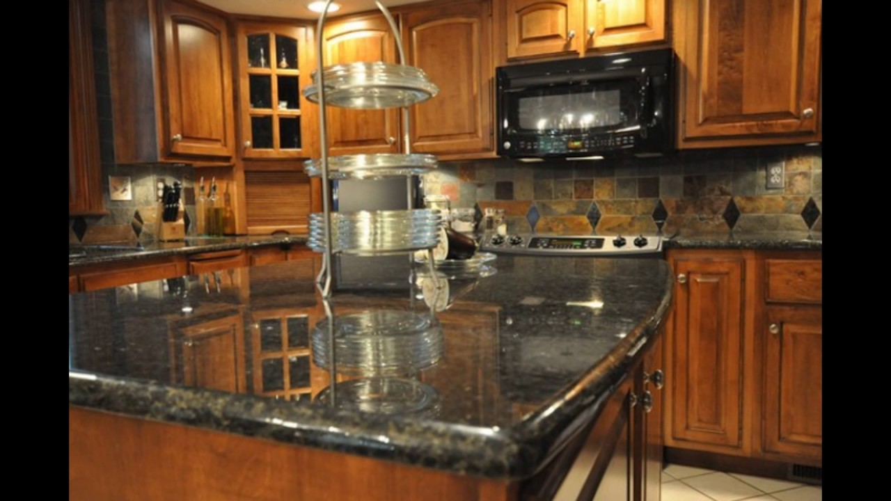 - Backsplash Granite Combinations - YouTube