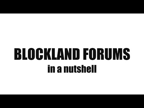 Blockland Forums in a Nutshell 2015 (60 FPS!)