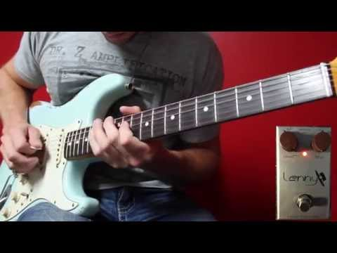 J Rockett Lenny (Stevie Ray Vaughan - Lenny) Demo by Kris Richards