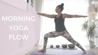 Morning Yoga Flow - 35 Minutes To Wake Up Your Body!  |  Nicole Windle Yoga