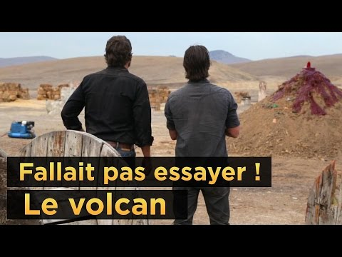 Fallait pas essayer : le volcan poster