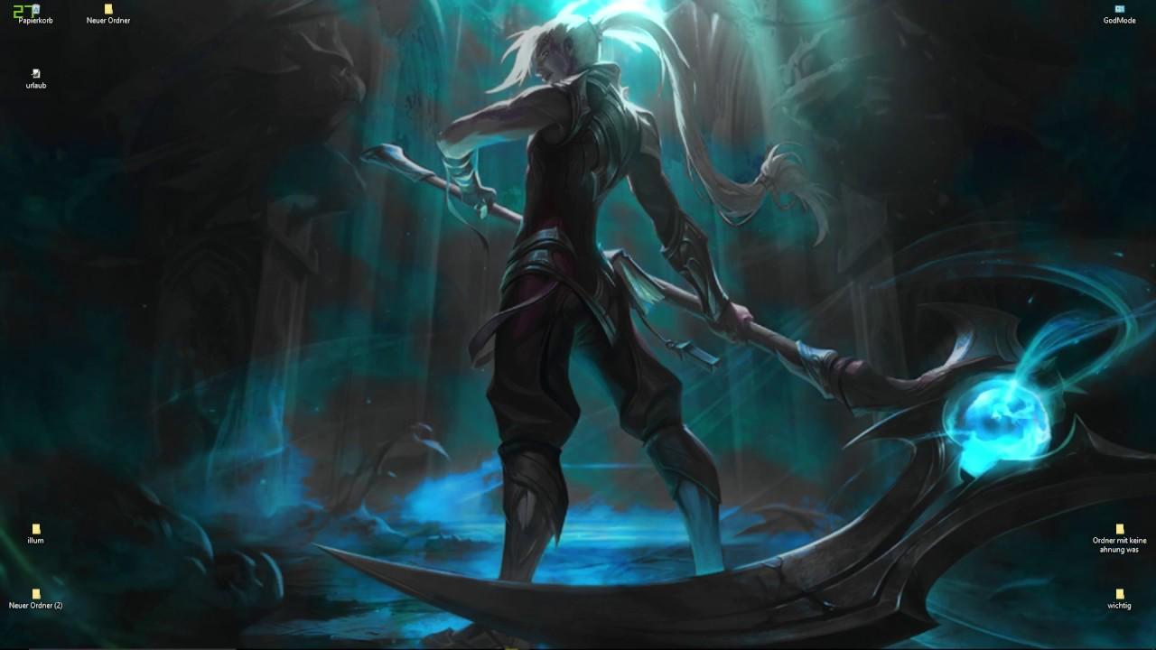 Soulhunter Kayn Wallpaper League Of Legends Youtube