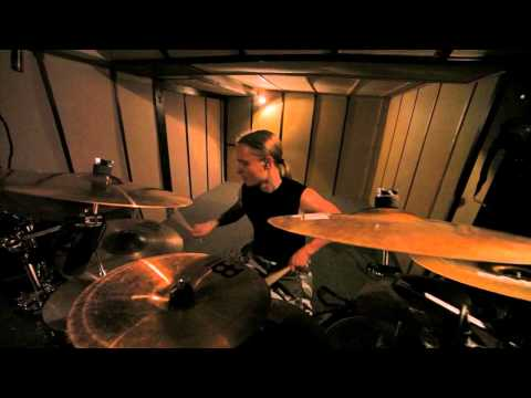 "Gloria Morti ""Lex Parsimoniae"" studio drum performance"