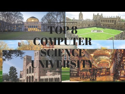 Top 8 Computer Science University//2018// In The World