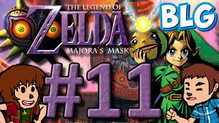 Let's Play Majora's Mask (100%) - Part 11 - Snowpeak BILL