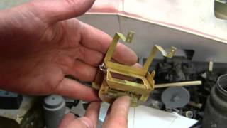 1 6th scale german sdkfz 222 armored car project video 16 turret progress