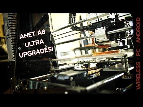 ✔ Anet A8 3D Printer ULTIMATE UPGRADES! (Prusa i3 DIY Kit) Octopi + Printoid
