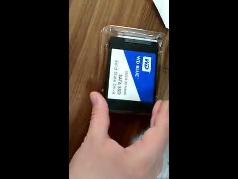 """Western Digital Blue SSD 250GB 2.5"""" SATAIII 3D NAND (WDS250G2B0A)"""