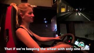 Trucking Girl - Gabarytowy konwój, cz.2, Oversize load convoy, part 2 ep. 37