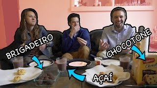 americans try brazilian foods