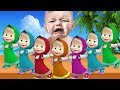 Learn Colors With Masha and The Bear for Children Finger Family song Nursery Rhymes