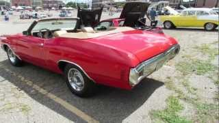 1970 Chevy Chevelle SS Conv - Woodward Dream Cruise 2012