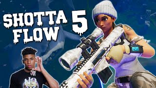 Fortnite Montage - SHOTTA FLOW 5 (NLE Choppa)