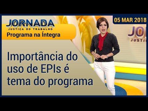 Jornada fala sobre a importância do uso de EPIs